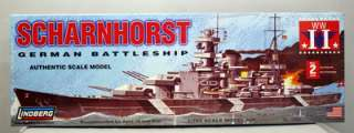 Scharnhorst German Battleship 1/762 Scale Lindberg Model Kit 70862 NEW
