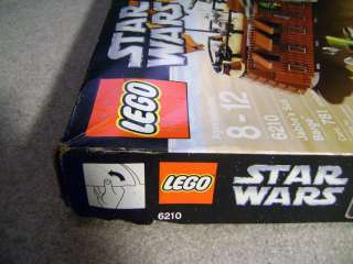 LEGO STAR WARS SET 6210 JABBAS SAIL BARGE SEALED RARE