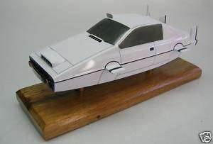 James Bond Lotus Esprit Submarine Wood Model Free Ship