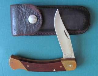 SCHRADE USA Uncle Henry Bear Paw Lockback Knife LB7   N MINT 1980s U.S
