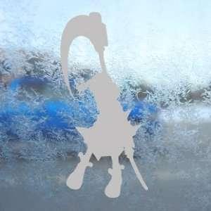 Soul Eater Gray Decal Maka Albarn Truck Window Gray