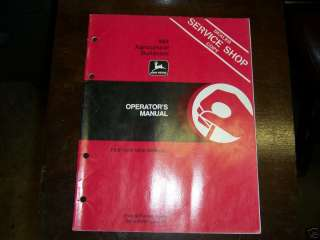 1200) John Deere Op Manual 864 Ag Bull Dozer