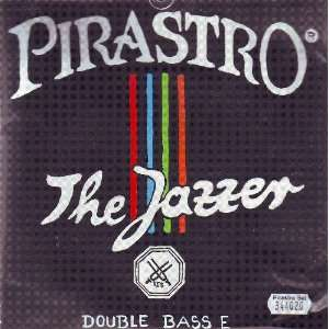 Pirastro Bass Jazzer Set Steel/Chrome Steel Orchestra