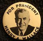 Photo Henry Wallace Progressive Party 1948 Political Pi