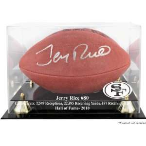 Jerry Rice San Francisco 49ers 2010 Hall of Fame Golden