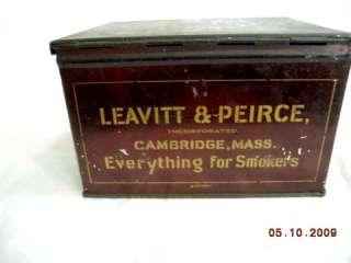 antique FAMOUS CAKE BOX MIXTURE ~~TOBACCO TIN