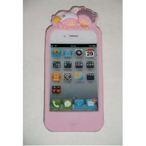Little Twin Star Baby Pink Protective Silicone Gel Case