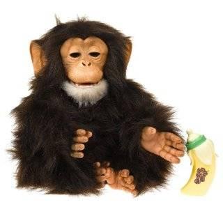 Ubu Lifelike Baby Chimpanzee Monkey Doll by Ashton Drake Toys & Games