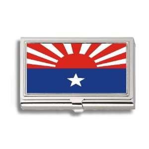 Karen National Liberation Flag Business Card Holder Metal