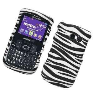 For Straight Talk Samsung R375C Accessory   Zebra Design