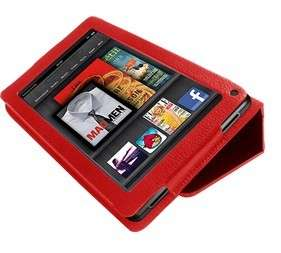 3IN1 for  7 Kindle Fire Tablet PU Leather Case Cover+Film
