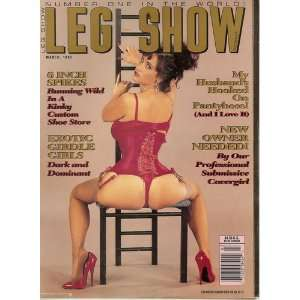 Leg Show Magazine March 1993: Leg Show: Books