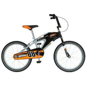 NASCAR Junior Nation Kids 20  Inch Bike, Black/Gray