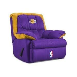 Los Angeles Lakers NBA Team Logo Home Team Recliner