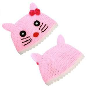 Hello Kitty Beanie Knit Hat for Kids.