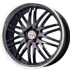 Victor Equipment Lemans Gloss Black Machined Wheel (18x9.5/5x130mm)