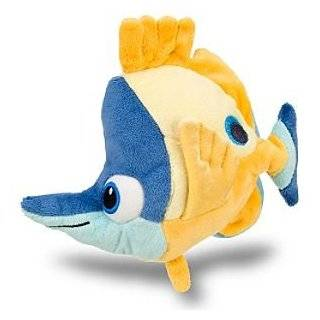 Disney Finding Nemo Tad Mini Bean Bag Plush    6