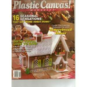 Plastic Canvas Magazine Christmas 16 Seasonal Sesations