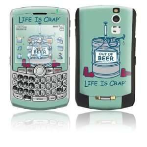 Beer Keg Design Protective Skin Decal Sticker for Blackberry Curve