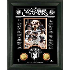 BSS   San Francisco Giants World Series Champions Signature Etched