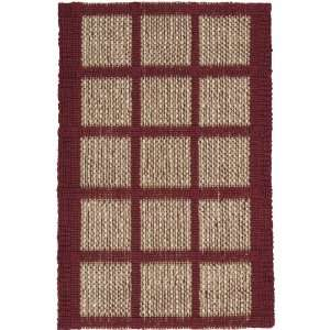 Surya Country Jutes Red Natural Geometric Boxes