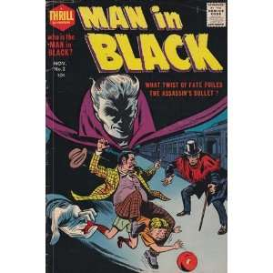 Man In Black #2 Comic Book (Nov 1957) Very Good +