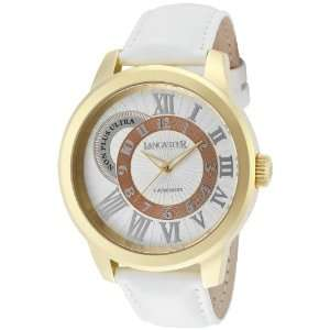 Mens Non Plus Ultra Light Silver Textured Dial Gold IP