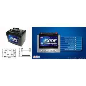 Exide 78DT 84N Standard Automotive Battery Automotive