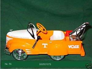 UNIVERSITY OF TENNESSEE TOW TRUCK PEDAL CAR 1/6 SCALE