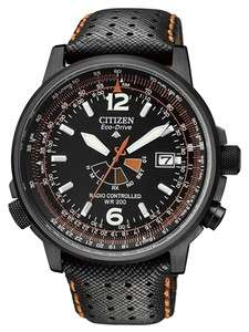 CITIZEN PROMASTER ECO DRIVE RADIO CONTROLLED NIGHTHAWK PILOTS WATCH