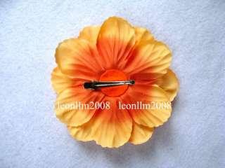 20 peony/daisy flower baby hair bows clip for headbands