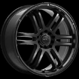 18x8 Black Wheel Drifz FX 5x110 5x115 Impala rims
