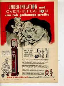FIVE DOLLAR AD  ECO0033 ECO AIR METER #244  1954  ORIG