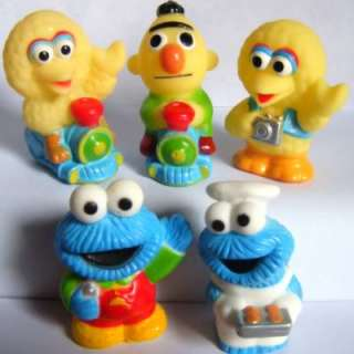 10 Sesame Street ELMO ERNIE COOKIE MONSTER BIG BIRD figures toy