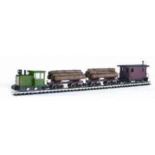 Bachmann 90071 G Lumberjack Ready to Run Large Scale Train Set