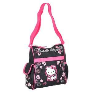 Hello Kitty Mini Diaper Bag   black/pink, one size