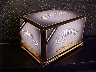CALLAWAY*WARBIRD*12 GOLF BALLS*DOZEN*NEW IN BOX*