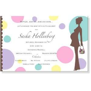 Girl Baby Shower Invitations   Sassy Baby Invitation