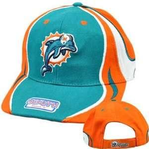 NFL Miami Dolphins Reebok Rbk Youth Kids Child Teal Orange