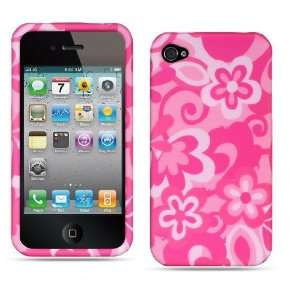 Apple Iphone 4, 4s Phone Protector Hard Cover Pink Combo