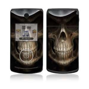 LG Chocolate 3 (VX8560) Decal Skin   Skull Dark Lord