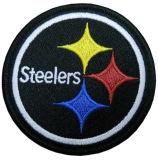 PITTSBURGH STEELERS NFL FOOTBALL LOGO PATCH IRON ON