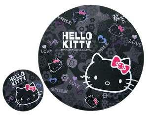 Sanrio HELLO KITTY Mousepad Mouse Pad Mat + Coaster *bk