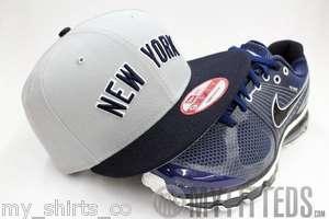 NEW YORK YANKEES Retro Arch Grey Navy New Era Snapback