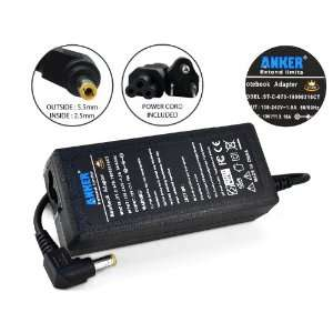 Anker® Golden Laptop AC Adapter + Power Supply Cord for Dell Inspiron