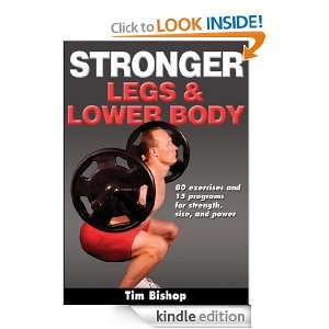 Stronger Legs & Lower Body Tim Bishop  Kindle Store