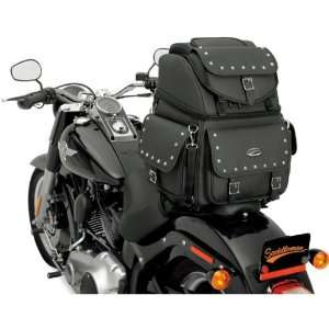 Saddlemen BR3400EX Back Seat/Sissy Bar Bag With Studs For