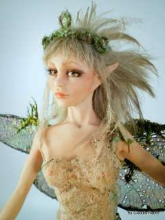 Tinkerbell OOAK Fairy Art Doll, IADR, by Claudia Raddi