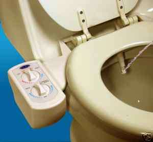 Beige BB 3000, Hot and Cold Water Bidet by BlueBidet