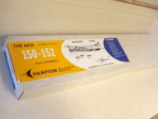 CHAMPION MODEL CO. CESSNA 150 152 R/C MODEL AIRPLANE KIT **sealed